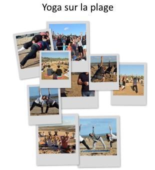 Yoga sur la plage